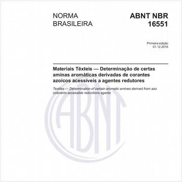 NBR16551 de 12/2016