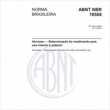 NBR16568 de 12/2016