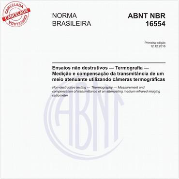 NBR16554 de 12/2016