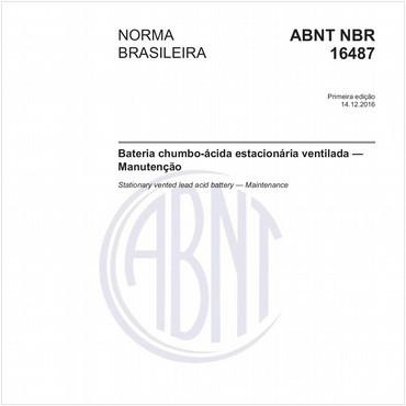 NBR16487 de 12/2016