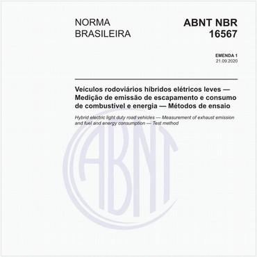 NBR16567 de 09/2020