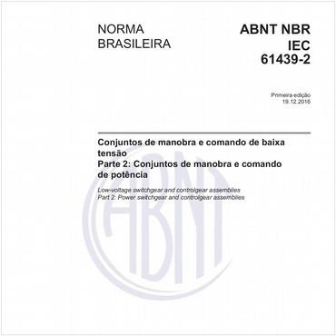 NBRIEC61439-2 de 12/2016