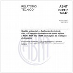 ABNT ISO/TR14047
