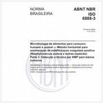 NBRISO6888-3