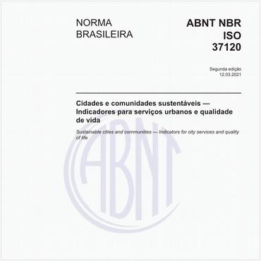 NBRISO37120 de 01/2017