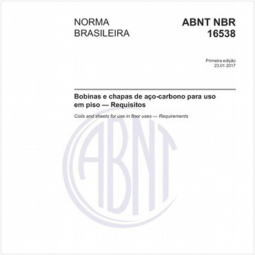 NBR16538 de 01/2017