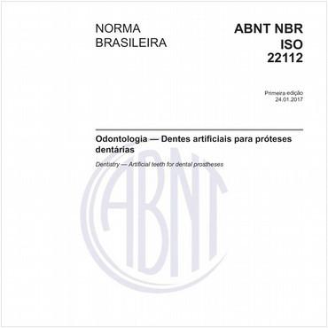 NBRISO22112 de 01/2017
