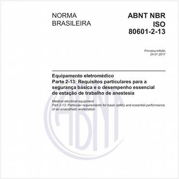 NBRISO80601-2-13 de 01/2017