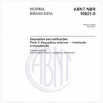 NBR10821-5