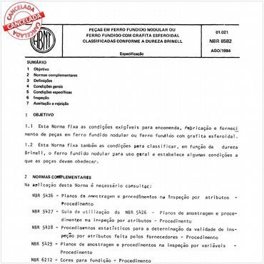 NBR8582 de 08/1984