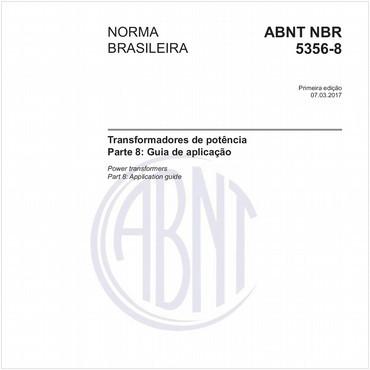 NBR5356-8 de 03/2017