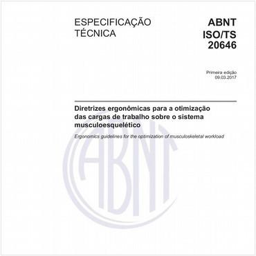 ABNT ISO/TS20646 de 03/2017