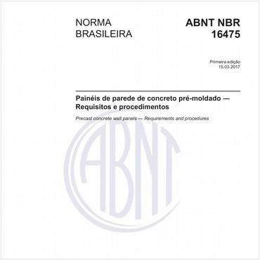 NBR16475 de 03/2017