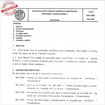 NBR8583 de 08/1984