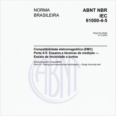 NBRIEC61000-4-5 de 03/2017