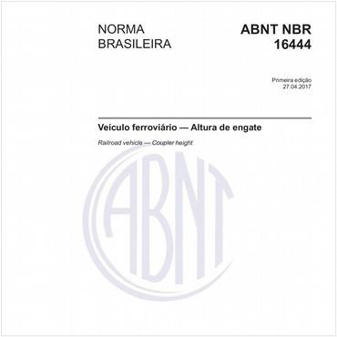 NBR16444 de 04/2017
