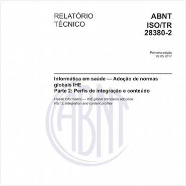ABNT ISO/TR28380-2 de 05/2017