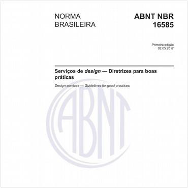 NBR16585 de 05/2017