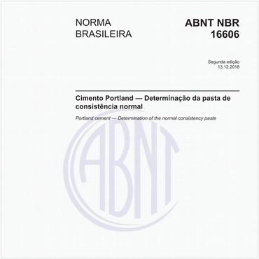 NBR16606 de 12/2018