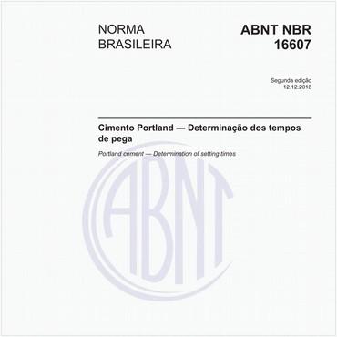 NBR16607 de 12/2018