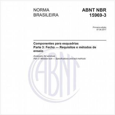 NBR15969-3 de 06/2017