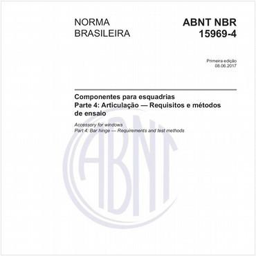 NBR15969-4 de 06/2017