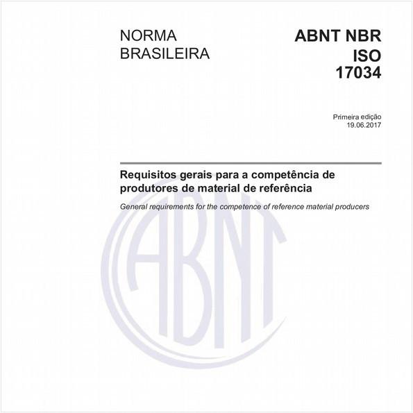 Requisitos gerais para a competência de produtores de material de referência