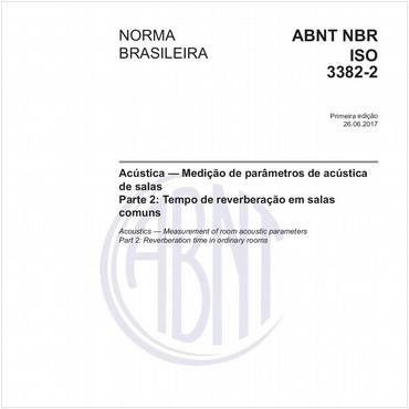 NBRISO3382-2 de 06/2017
