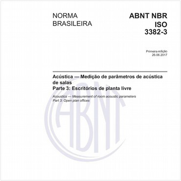 NBRISO3382-3 de 06/2017
