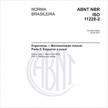 NBRISO11228-2 de 06/2017