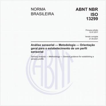 NBRISO13299 de 07/2017