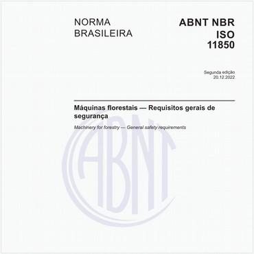 NBRISO11850 de 07/2017