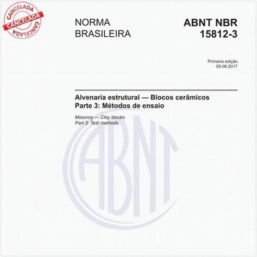 NBR15812-3 de 08/2017