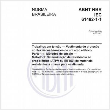 NBRIEC61482-1-1 de 08/2017