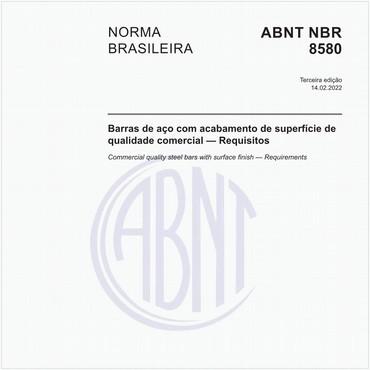 NBR8580 de 06/2015