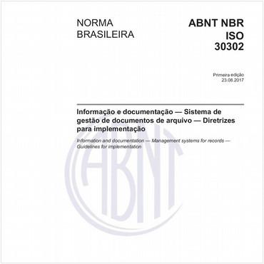 NBRISO30302 de 08/2017