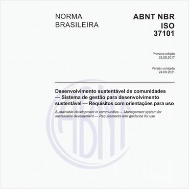 NBRISO37101 de 08/2017