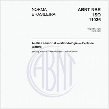 NBRISO11036 de 08/2017