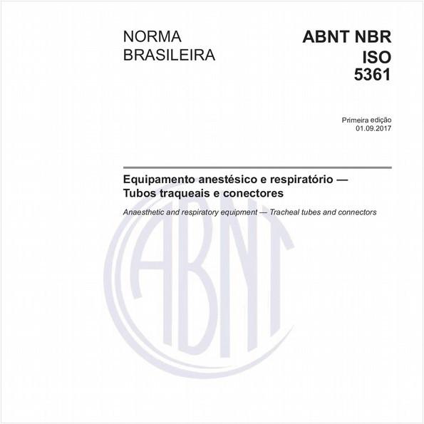Equipamento anestésico e respiratório - Tubos traqueais e conectores