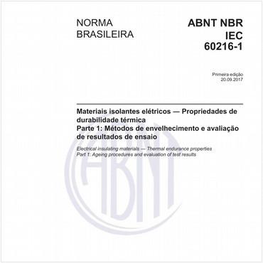 NBRIEC60216-1 de 09/2017
