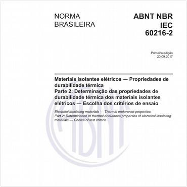 NBRIEC60216-2 de 09/2017