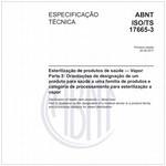 ABNT ISO/TS17665-3