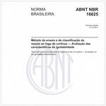 NBR16625 de 10/2017