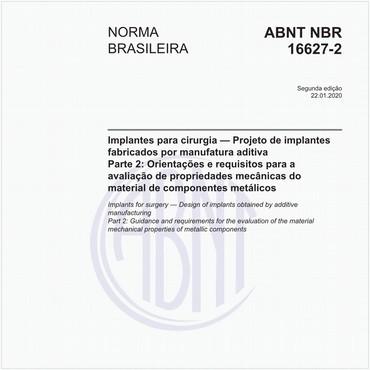 NBR16627-2 de 01/2020