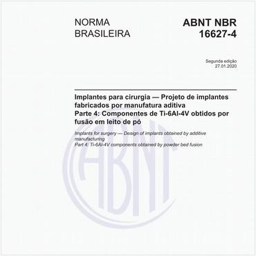 NBR16627-4 de 10/2017