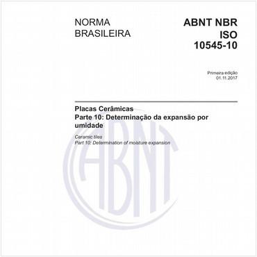 NBRISO10545-10 de 11/2017