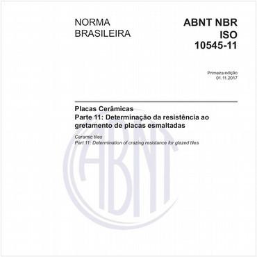 NBRISO10545-11 de 11/2017