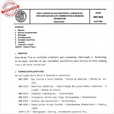 NBR8636 de 10/1984