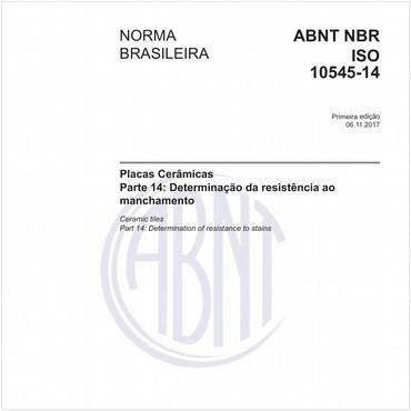 NBRISO10545-14 de 11/2017
