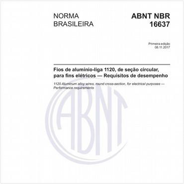 NBR16637 de 11/2017
